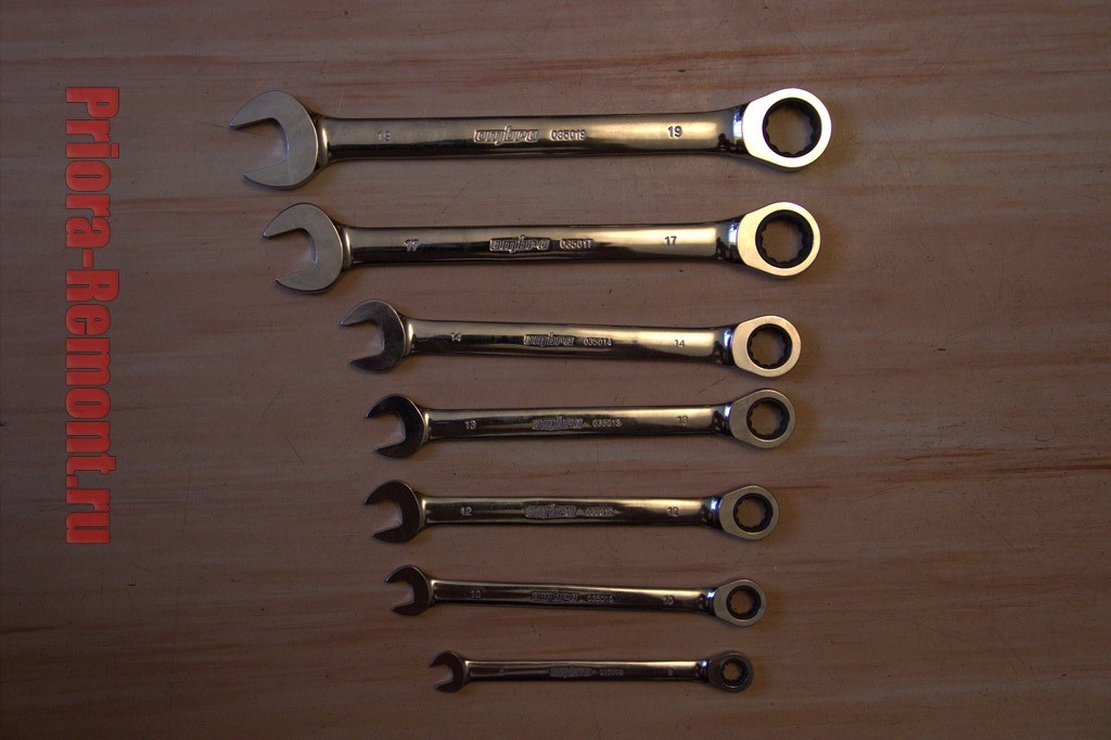 трещоточные ключи Ombra