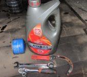 инструмент для замены масла на Приоре