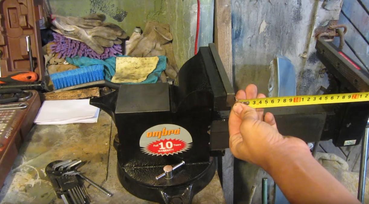 тиски Ombra для гаража купить