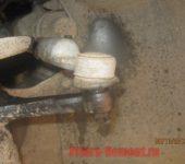 нанести смазку на резьбовые соединения наконечников на Приоре